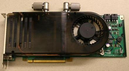 NVIDIA busting out liquid-cooled GeForce 8800 in November?