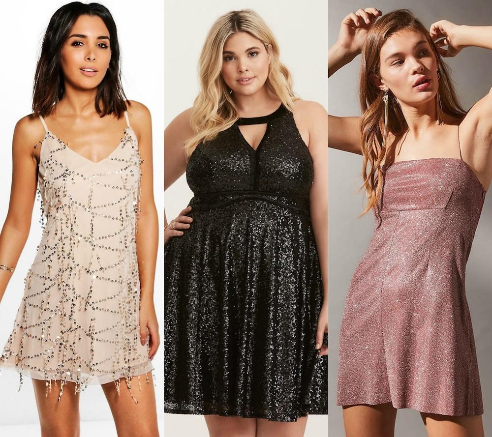 16 shiny dresses to add to your wardrobe in 2018, because