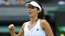 Tsvetana Pironkova shows no signs of rustiness as she shocks Garbine Muguruza