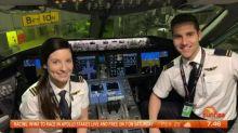 Mile high romance between pilots