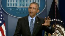 Obama vows to defend U.S. 'core values' as a citizen