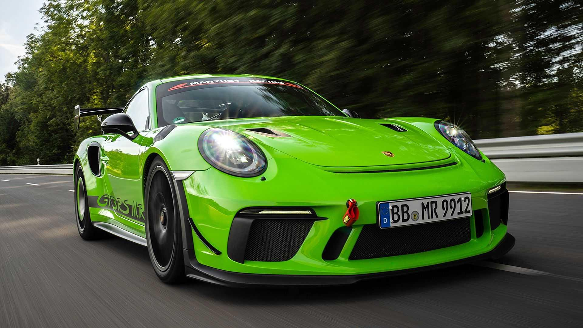Porsche 911 Gt3 Rs Receives Manthey Racing Upgrades