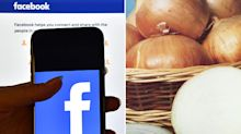 Onions banned from Facebook for being 'too sexy'