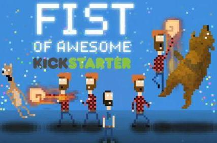 Time-traveling lumberjack-em-up Fist of Awesome is out now