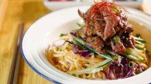 【出街搵食】新派手工魚麵專門店!惹味麻辣牛肉拌麵|旺角Cafe|