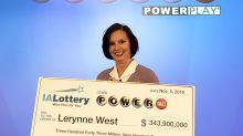 $343.9 million lottery winner and single mom donates big to veterans