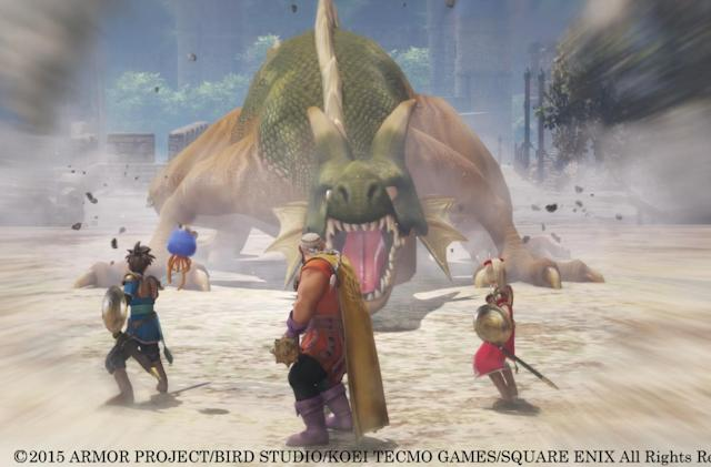 Playdate: Going to war in 'Dragon Quest Heroes'