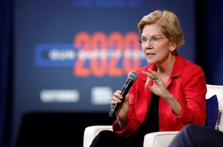 Elizabeth Warren calls for new tax on 'excessive lobbying'