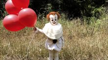 IT: Toddler's terrifying Pennywise photo shoot goes viral