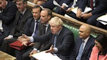 MPs vote to block no-deal Brexit in humiliating defeat for Boris Johnson