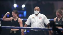 Katie Taylor retains lightweight titles after points win over Delfine Persoon in thrilling rematch