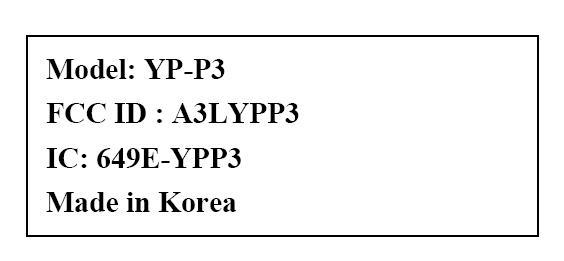 Samsung's YP-P3 becomes a reality -- thanks, FCC