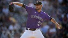 Gomber tosses 8 shutout innings, Rockies beat Padres 3-2