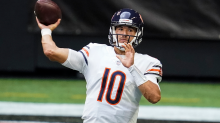Bears fans clamoring for Mitch Trubisky on Twitter as Nick Foles struggles