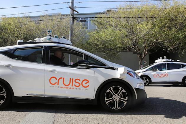 SoftBank pours $2.25 billion into GM's self-driving car division