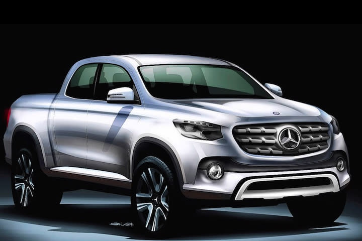 more details emerge on mercedes benz x class pickup truck. Cars Review. Best American Auto & Cars Review