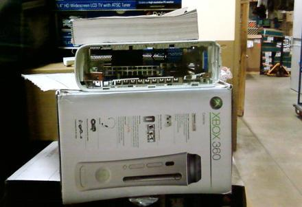Xbox 360 returned, critical components not included