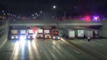 Détroit : des chauffeurs routiers volent au secours d'un homme sur le point de se suicider