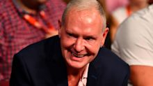 England football legend Paul Gascoigne 'arrested on suspicion of sexual assault on a train'