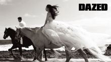 《DAZED》韓國版再度釋出 TAEYANG 與未婚妻閔孝琳婚紗圖輯
