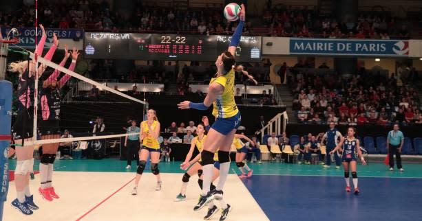 Volley - Ligue A (F) - Ligue A (F) : Béziers tombe à Cannes, Mulhouse creuse l'écart - Yahoo Sport