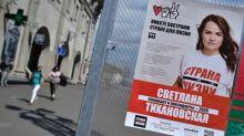 Oposição reúne milhares de pessoas em Belarus, apesar da vigilância policial