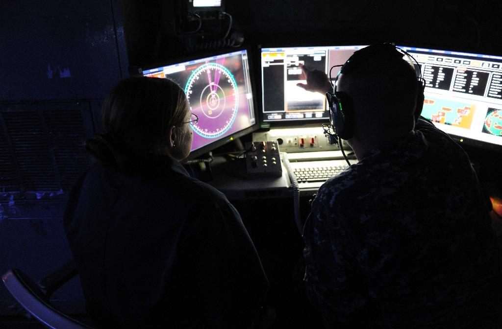 The Navy has since 2014 been testing a 30-kilowatt laser on one of its warships, the USS Ponce (AFP Photo/John F. Williams)