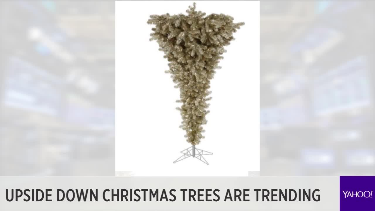 Upside Down Christmas Trees Are Trending Video