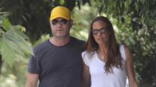 Liev Schreiber Looks Mighty Cozy With Gerard Butler's Gal Pal