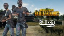 Twitch Prime expands to 200 more countries, reveals free PLAYERUNKNOWN'S BATTLEGROUNDS items for this month
