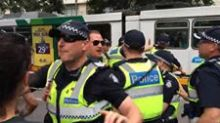Police Intervene as Fight Breaks Out at Refugee Rally in Melbourne