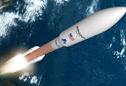 Amazon's first Project Kuiper internet satellites will launch aboard Atlas V rockets