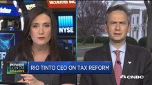 Rio Tinto CEO: Corporate tax rate can make a massive diff...