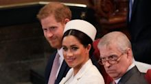 Prince Harry caught nodding his head to Clean Bandit at Commonwealth Day service