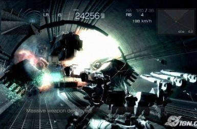 Armored Core 4: pretty mechs, nice tunnels, drab outdoors?