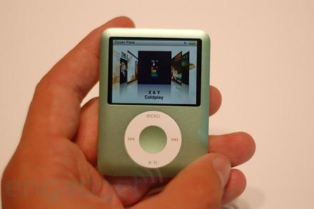 iPod nano 3G first hands-on