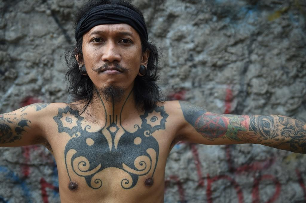 bidayuh tattoo