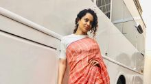 Kangana Ranaut Convinces Us To Make Sari An Everyday Wear With This Humble Sari