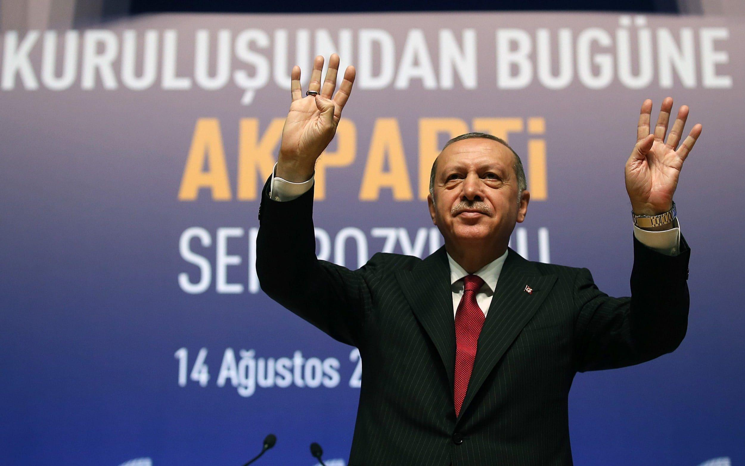 Erdogan calls for boycott of iPhones as he targets American consumer products in retaliation for sanctions