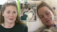 'Sleeping beauty' who thought she had a cold falls into coma for a month