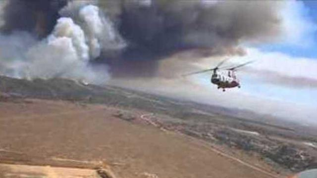 Evacuation Orders Lifted at Camp Pendleton