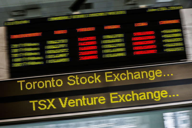 TSX opens higher as banks lead gains