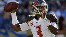 Jameis Winston the Buccaneers are suddenly tied for first place in the NFC South