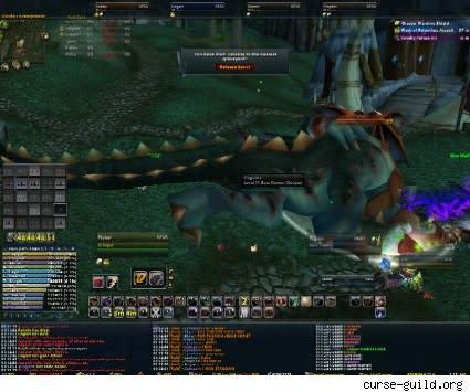 Another world first: Curse slays Azgalor!
