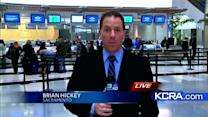 Sacramento airport busy ahead of Thanksgiving holiday