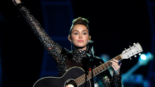 "Miley Cyrus Made A Political Statement With ""Party In The U.S.A."""