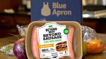 Blue Apron stock soars as news of Beyond Meat menus sparks a round of short covering