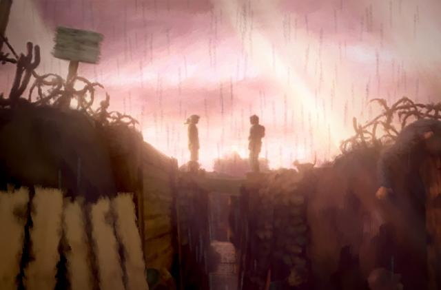 How Aardman made a WWI game look like an oil painting