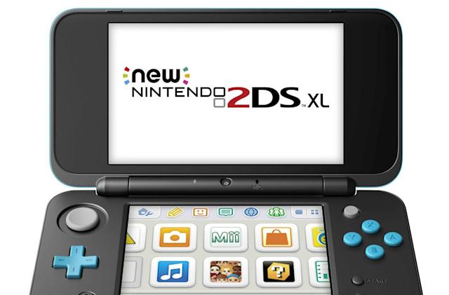 Nintendo's latest portable is the $150 2DS XL