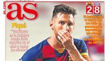 'Humilhação histórica': jornais espanhóis repercutem derrota do Barcelona e falam de 'consequências imprevisíveis'